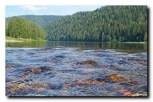 Таблица крупнейших рек России
