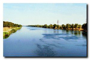 Крупнейшие водные каналы Украины