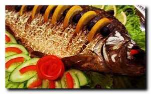 Способы запекания целой рыбы