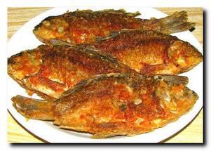 Быстрое обжаривание рыбы