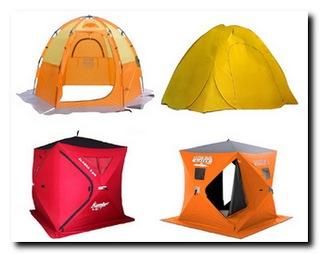 Обзор зимних палаток